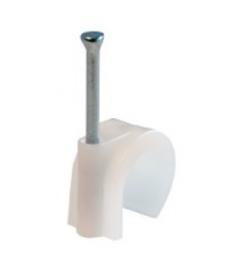 MEPAC Spijkerclip wit   2,75/4 mm