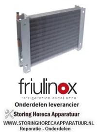 887750196 - Verdamper L 500mm B 60mm H 330mm FRIULINOX