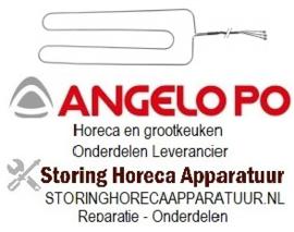 060418600 - Verwarmingselement 160W 220V voor Angelo Po koelkast