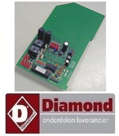 248F2801 - ELEKTRONISCHE BEDIENINGS PRINTPLAAT  DIAMOND  PPF-10