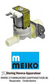 """632370018 - Magneetventiel enkel recht 230VAC ingang 3/4"""" uitgang 14mm DN10 TP  MEIKO"""