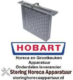 537517581 - Rechthoekfilter RVS voor vaatwasser HOBART