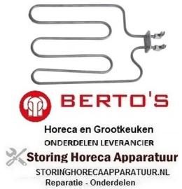 704416010 - Verwarmingselement 800 Watt - 230 Volt voor toaster BERTOS