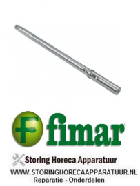 230SL0097 - Aandrijfas voor deegmenger FIMAR 25-38/S