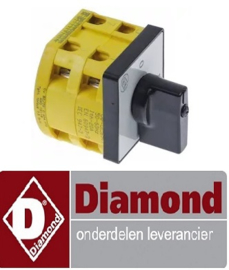 018347634 - draaischakelaar 2 0-1 DIAMOND E3F/24R