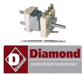 052052330 - Thermostaat t.max. 185°C DIAMOND FRITESUE E22/F30-A8