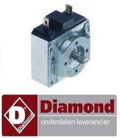 124A96ZM00002 - Tijdschakelaar 0-30 TF-TR bakker trog DIAMOND NT10/G-(230/1)