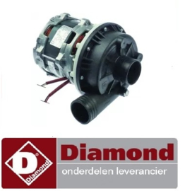 ST1130109 - Waspomp ingang ø 50mm uitgang ø 50mm type ZF400SX 230V 50Hz fasen 1 0,6kW 0,8PS L 210mm DIAMOND D86