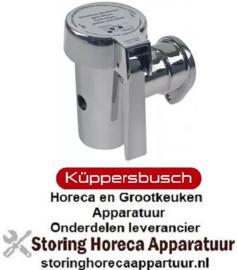 219542084 - Aftapkraan ø 47mm conisch afdichtend A 101mm nikkel zilver KUPPERBUSCH