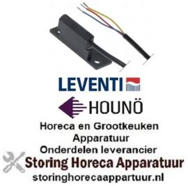 542348245 - Magneetschakelaar 1NO L 65mm B 25mm H 28mm aansluiting kabel kabellengte 1150mm LEVENTI