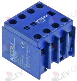 381216 - Hulpcontact contact 2NO-2NC voor magneetschakelaar CKDC2