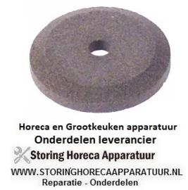162697392 - Slijpsteen ø 50mm dikte 8mm boring ø 8mm korreling fijn met fase, zonder naaf