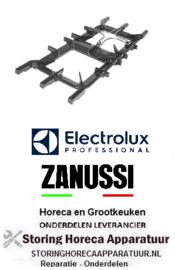 497210130 - Gasfornuis brander rooster B 345mm L 810mm Electrolux, Zanussi