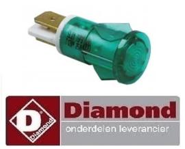 580A08009 - GROEN SIGNAAL LAMPJE DIAMOND FSM-2V6E/N