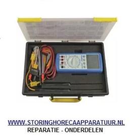 ST1800118 - Multimeter met temperatuurmeetfunctie PEAK TECH 3335DMM oppervlakte-, insteekvoeler meeteenheid °C