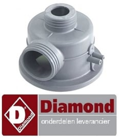 064136020 - Aanzuigdeel vaatwasser DIAMOND D26EKS-NP
