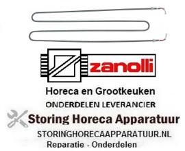 774418116 - Verwarmingselement 1000W 220V L 810mm B 214mm ZANOLLI