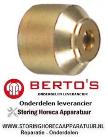 101107174 - Waakvlaminspuiter SIT aardgas voor bakplaat G7FL8B-2 BERTOS