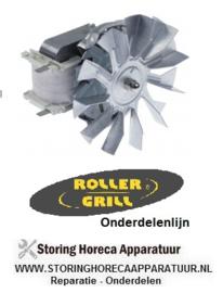 236601796 - OVEN Heteluchtventilator 220/240V, 30W ventilatorblad ø 120mm  ROLLER-GRILL