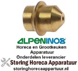 239100588 - Gasinspuiter boring ø 0,6mm ALPENINOX