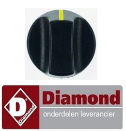 778A.141.11 - Knop worsten verwarmer DIAMOND STAR-HD/R