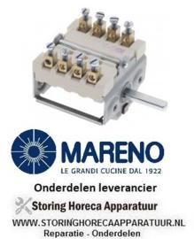 079710300 - Nokkenschakelaar 2 schakelstanden kantelbare braadpan  MARENO BRG94G