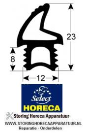 905902497 - Deurrubber profiel L 1020 mm HORECA-SELECT