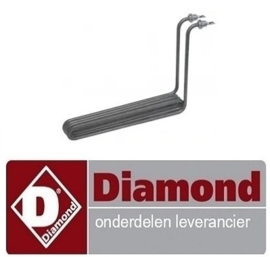 334415929 - Verwarmingselement 2500W 230V friteuse DIAMOND E65 - F20-7T