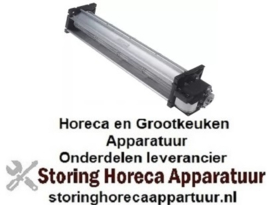 100601718 - Dwarsstroomventilator rol ø 60mm wals L 420mm gelamineerde kerndikte 30mm 230V/50Hz