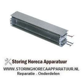 243420267 - Verwarmingblok bevestigingsafstand 2000W 230V VC 2 aansluiting kabel
