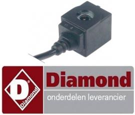 350371084 - Magneetspoel voor magneetventielhuis koelwerkbank DIAMOND TG2B/L