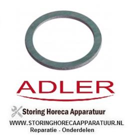 12460009 - Vlakpakking rubber ADLER VAATWASSER A350