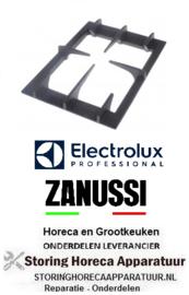 642210027 - Branderrooster B 284mm L 386mm H 51mm voor ELECTROLUX, ZANUSSI