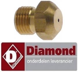 625RTCU900246 - Gasinspuiter propaangas boring ø 1,15mm voor gasfornuis DIAMOND
