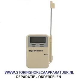 ST1802116 - Temperatuurmeter met insteekvoeler meeteenheid °C/°F -50 tot +300°C