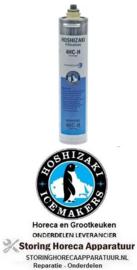 735530923 - Waterfilter EVERPURE type 4HC-H capaciteit 79485l stroomsnelheid 454,2l/h werkdruk max. bar HOSHIZAKI