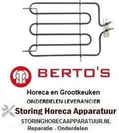 414415347 - Verwarmingselement 1600 Watt - 230 Volt salamander BERTOS