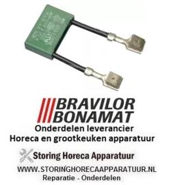 0446211772000 - Condensator  µF 0,1 250 V BRAVILOR, BONAMAT FRESHONE