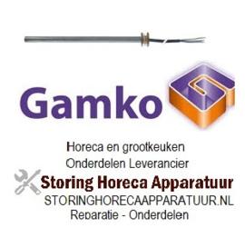 """588417572 - Verwarmingspatroon 330W 230V ø 12mm L 240mm draad 3/8"""" kabellengte 1000mm universeel drankenkoeling  GAMKO"""