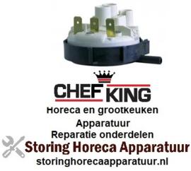 941541019 - Pressostaat drukbereik 70/30mbar voor vaatwasser CHEF-KING