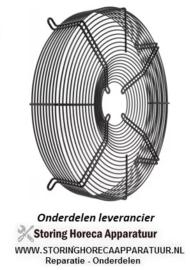 214601.957 - Beschermrooster ebm-papst voor ventilatorblad ø 450 mm ø 480 mm