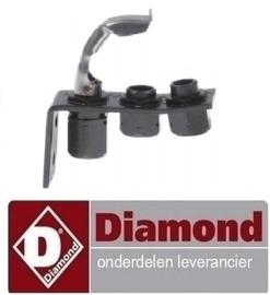 445RTCP800034 - Waakvlambrander 1-vlammig lava steengrill DIAMOND G77/GP4TO-N