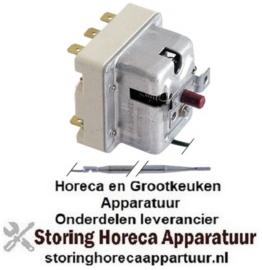 310375090 - Maximaalthermostaat uitschakeltemp. 365°C 2-polig 16A voeler ø 4mm voeler L 120mm pijp ø 1170mm