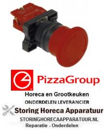 4688301050 - Paddestoelschakelaar deegmixer noodsituatie uitschakeling PIZZA-GROUP
