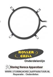 491420088 - Verwarmingselement 2400W - 230V  ROLLER-GRILL