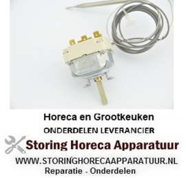 441.55.34039.807 - Thermostaat 102° - 187°C 3-polig voeler 231/Ø4mm capillair 2580/1800mm