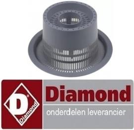 376121120 - Afvoerfilter voor doorschuifvaatwasser DIAMOND D26