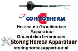 352379800 - Temperatuurvoeler thermokoppel K (NiCr-Ni) kabel silicone voeler -50 tot +1150°C - CONVOTHERM
