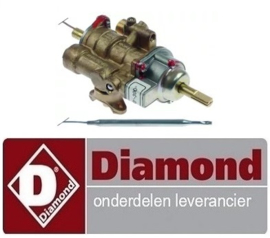 254168005  - Gasthermostaat bakplaat  100-300°C DIAMOND G77/PL4T-N