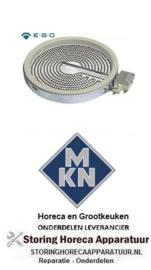 288490043 - Stralingselement ø 230mm 2300W voor MKN